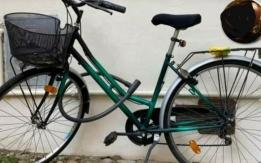 bici da donna rubata a pavia