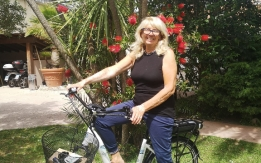 Bici elettrica rubata