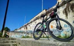 Bici Legnano nero verde
