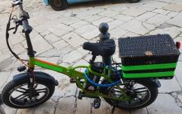 Bici x consegne rubata