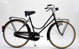 Bicicletta da donna anni 50 con freni a bacchetta