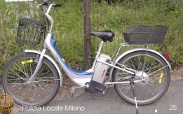 Lotto da 25-35 bici  rubate e recuperate a Milano