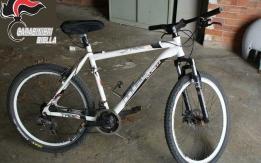 Mountain bike   recuperata dai carabinieri di Cossato