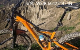 specialized stumpjumper arancione
